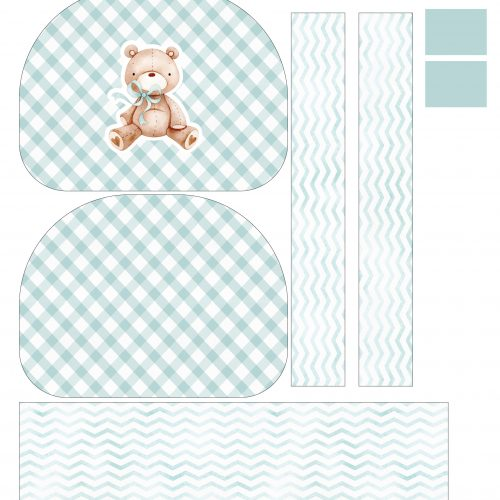 Tela Kit de Maternidade Ursinho pastel